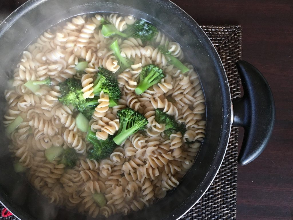 5 genius ways to use frozen vegetables: Whole wheat pasta with broccoli | Jane Sweeney for Cool Mom Eats