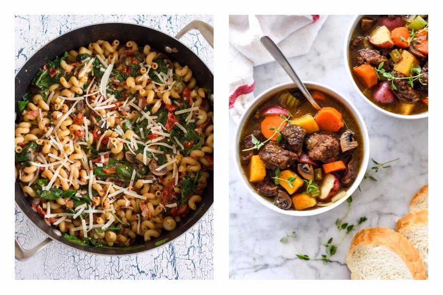 Next week's meal plan: 5 easy recipes for the week ahead, from a one-pot pasta to an Instant Pot fall stew.