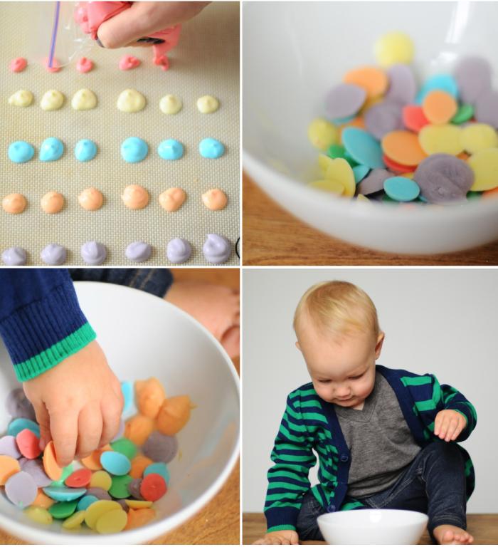 DIY Frozen Yogurt Dots at Small Fry blog