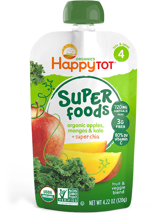 Happy Tot Superfoods pouch at Cool Mom Eats [sponsor]