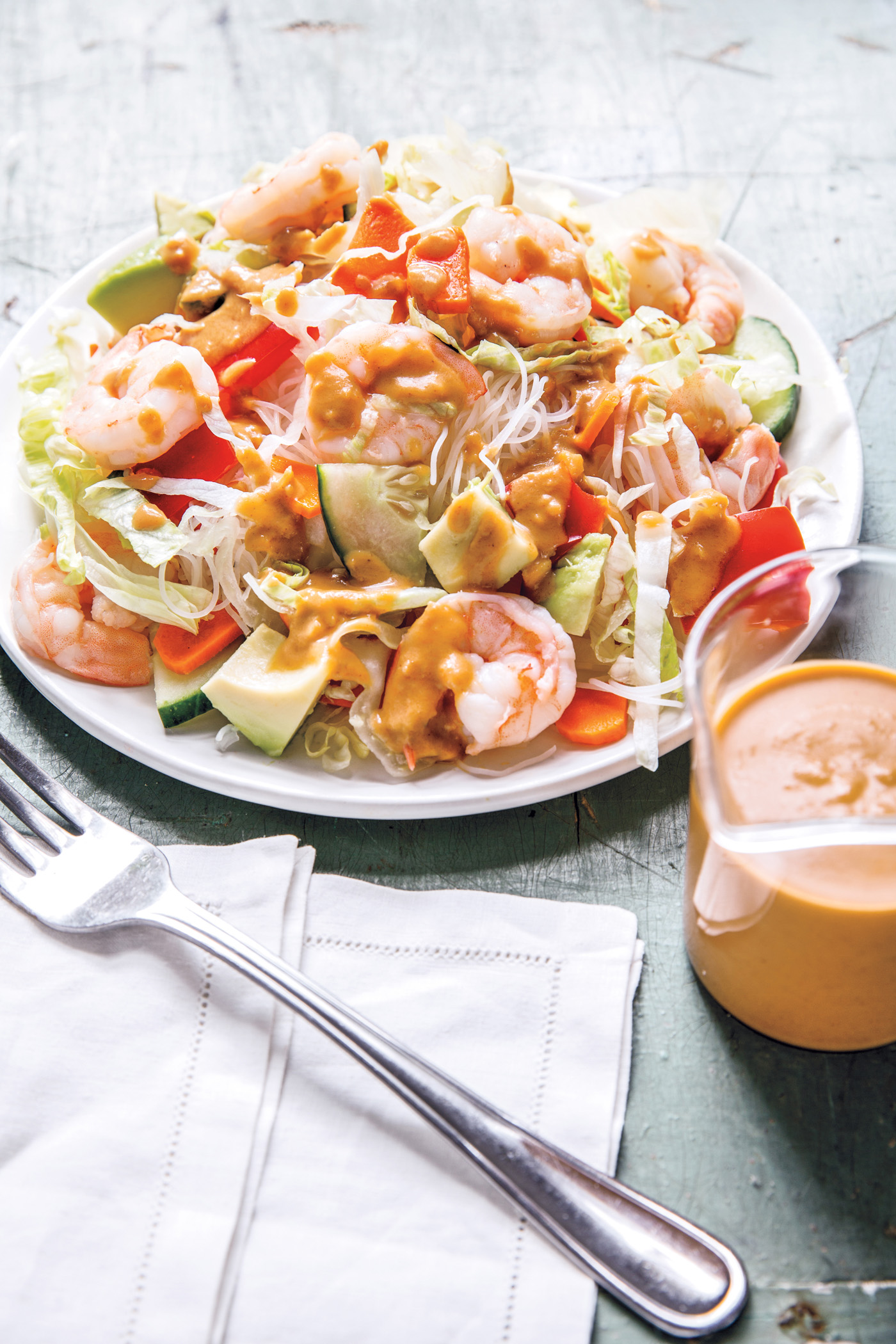 Peanut Sauce recipe from The Dinner Plan cookbook by Caroline Campion and Kathy Brennan | featured at Cool Mom Eats (Photos by Maura McEvoy)