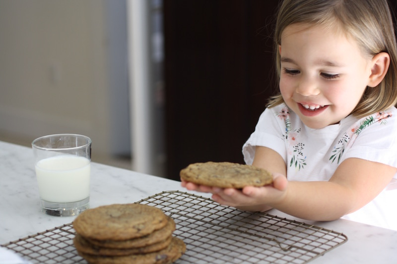Testing the internet's most famous chocolate chip cookies by Sara Kieffer from The Vanilla Bean Blog | Photo (c) Jane Sweeney for Cool Mom Eats