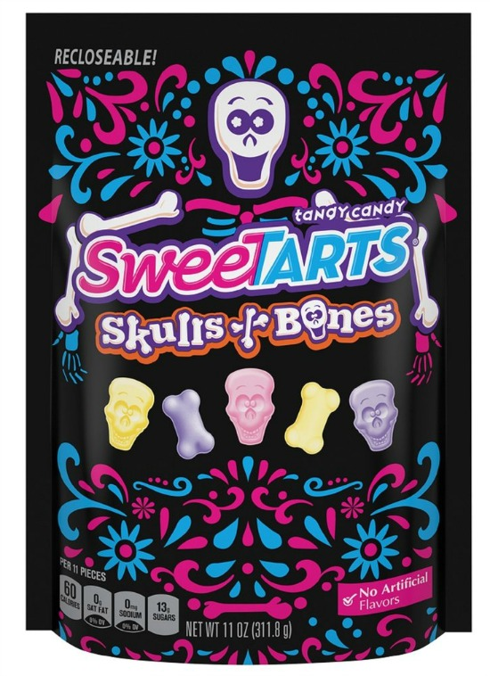 All the new halloween candy that you have to try for Halloween 2017! SweeTarts Skills and Bones | Cool Mom Eats