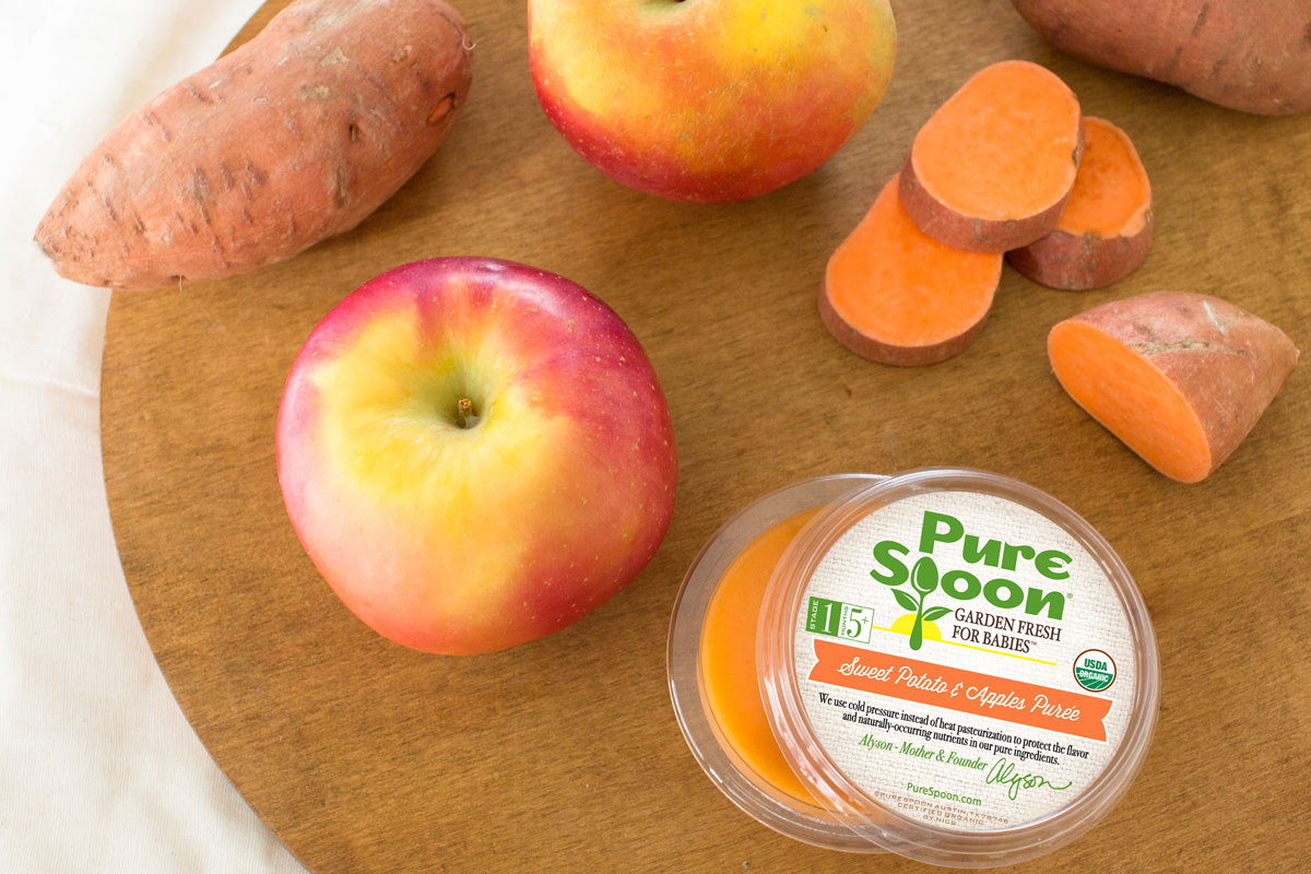 Our favorite new organic baby food brands -- and they each deliver straight to your door: Pure Spoon | Cool Mom Eats