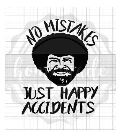 Bob Ross Instant pot decal