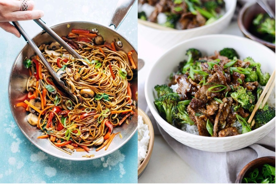 Next week's meal plan: 5 easy recipes for the week ahead, from a 15-minute Lo Mein to an easy weeknight stir-fry.