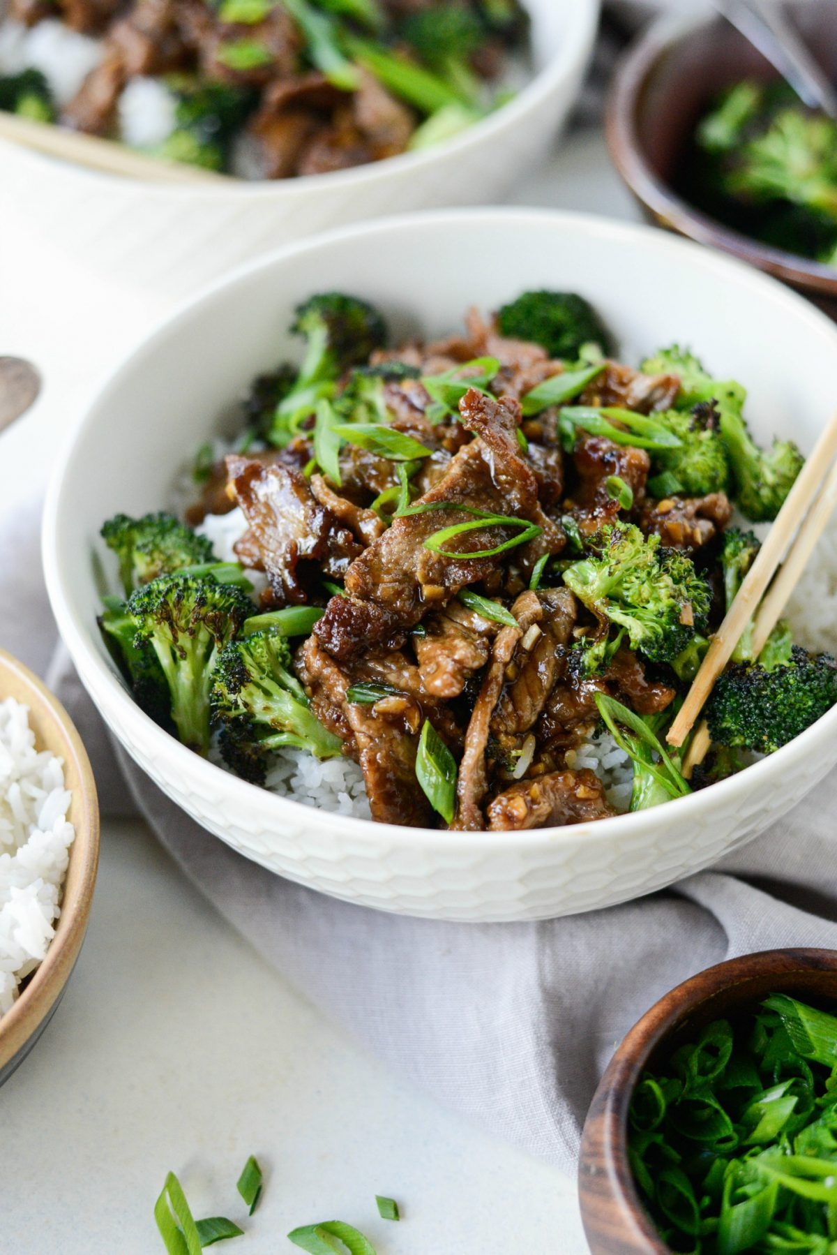 Cool Mom Eats weekly meal plan: Weeknight Mongolian Beef Stir-Fry at Simply Scratch