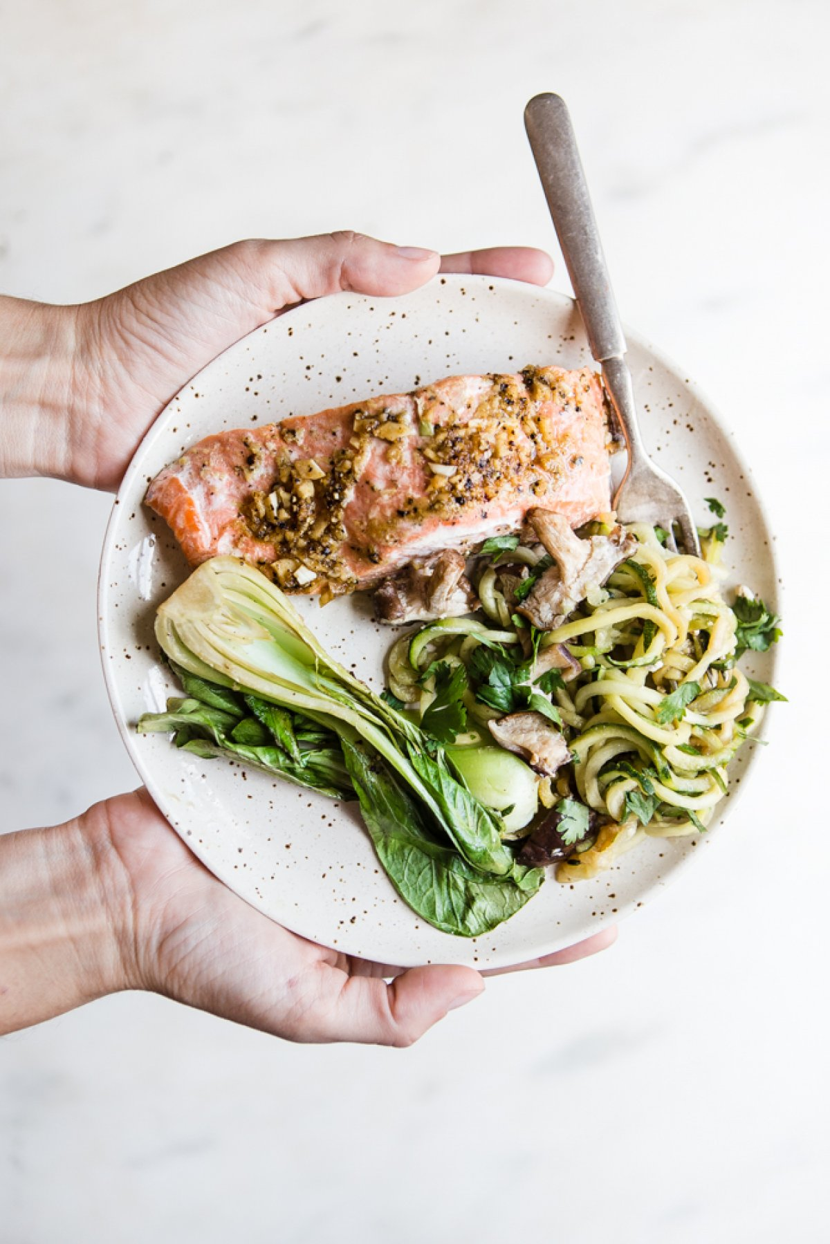 Cool Mom Eats weekly meal plan: 30-Minute Ginger Garlic Salmon at The Modern Proper
