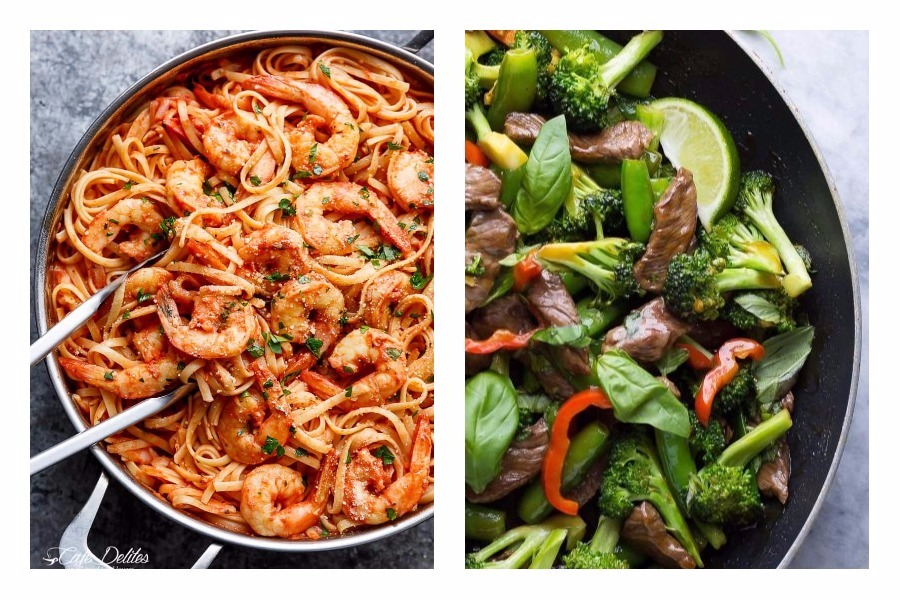Next week's meal plan: 5 easy recipes for the week ahead, from a 15-minute pasta to a super quick beef stir fry.