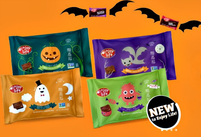 Allergy-free Halloween candy guide at Cool Mom Eats: New Enjoy Life Foods Halloween Chocolate Minis