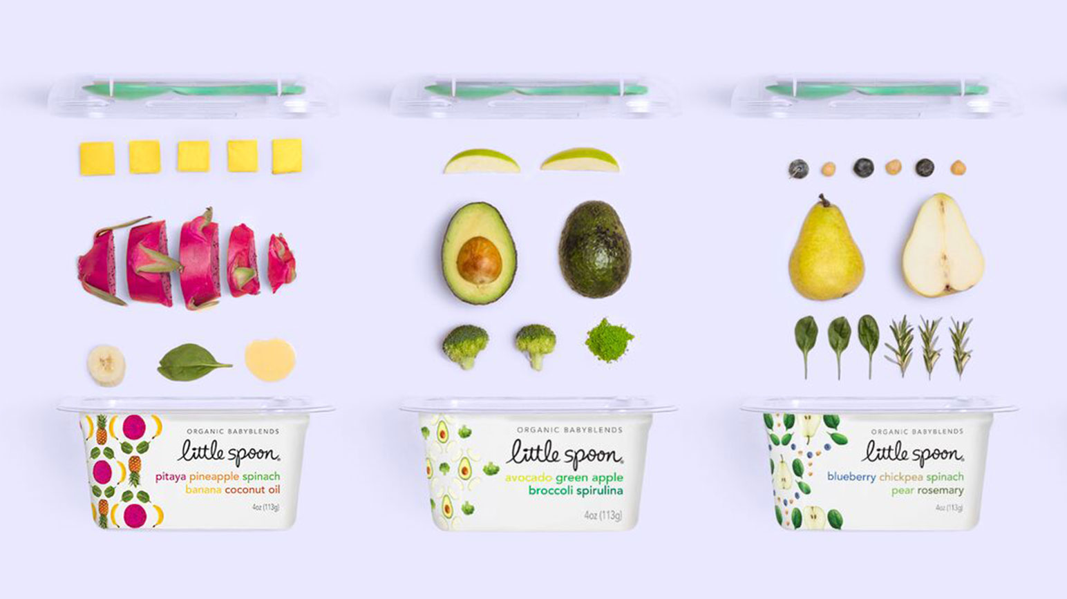 Our favorite new organic baby food brands -- and they each deliver straight to your door: Little Spoon | Cool Mom Eats