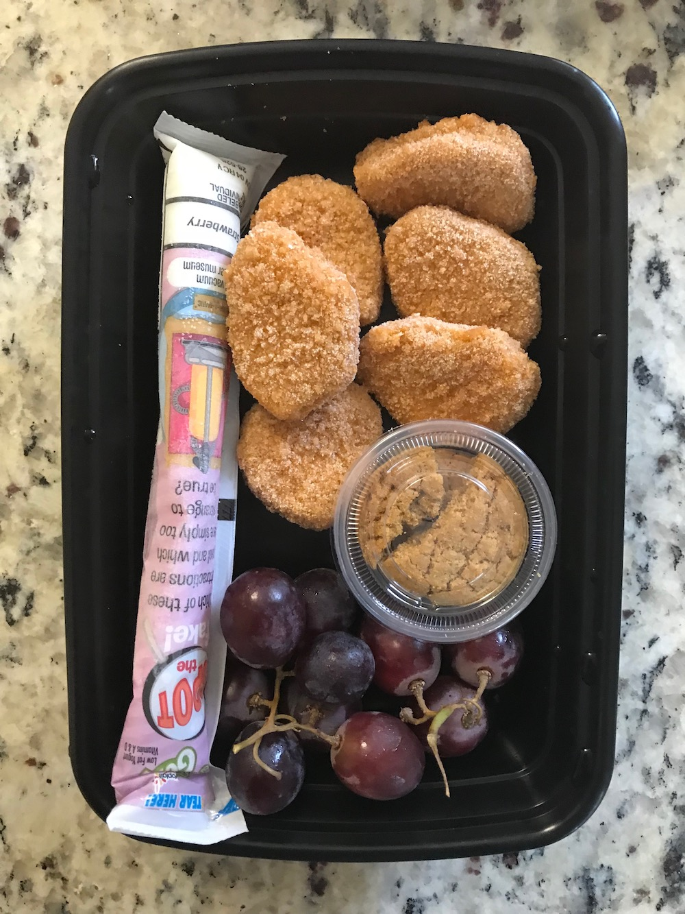 Smart lunch packing tips: Chicken Nugget lunch | Photo (c) Kate Etue for Cool Mom Eats