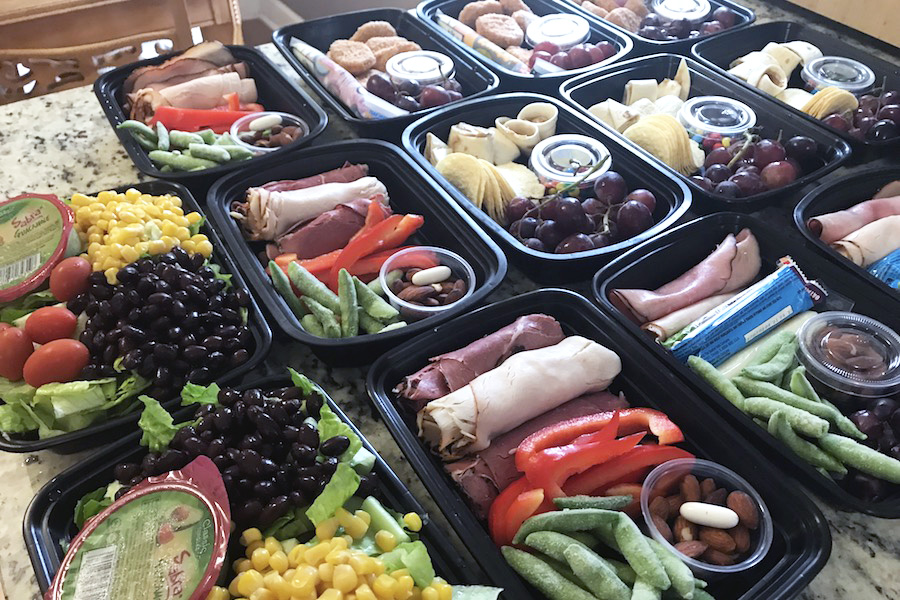 How I pack school lunches for the whole week in under 30-minutes — and keep them fresh too.