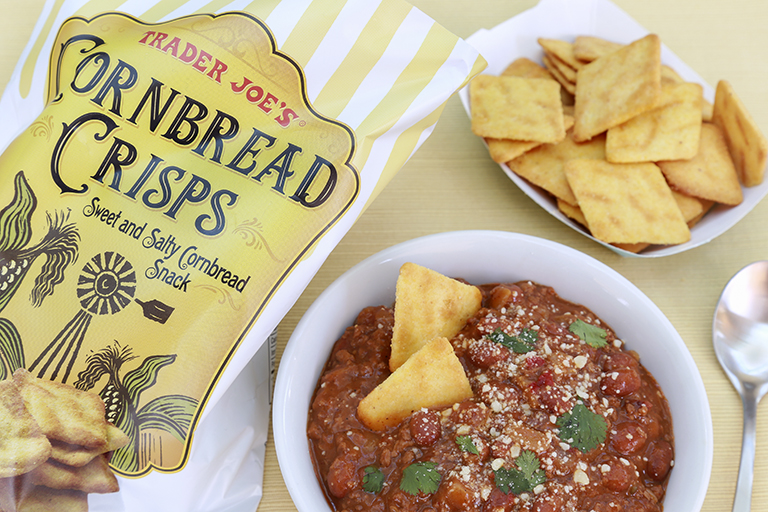 Our favorite new Trader Joe's products October 2017: Cornbread Crisps   Cool Mom Eats