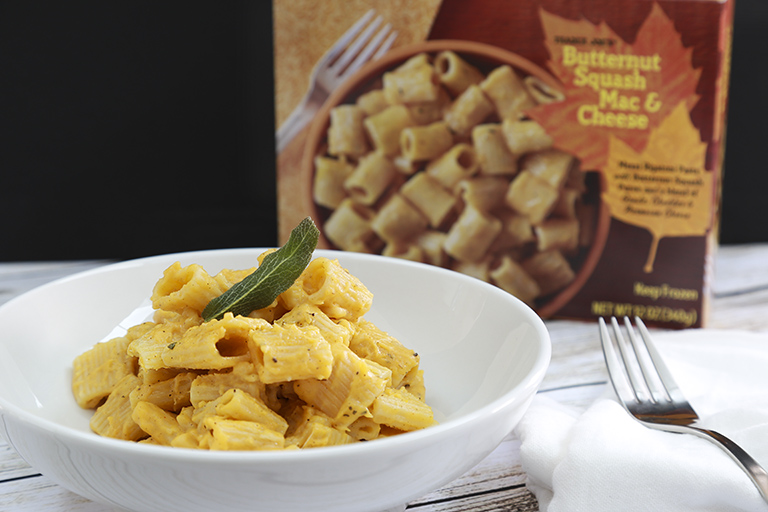 Our favorite new Trader Joe's products October 2017: Frozen Butternut Mac and Cheese   Cool Mom Eats