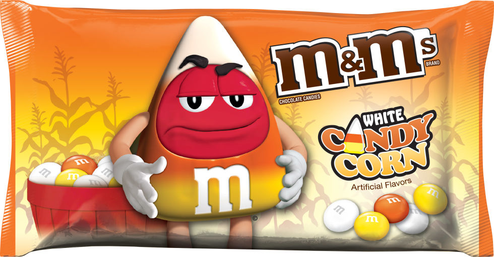 All the new halloween candy that you have to try for Halloween 2017! White Candy Corn M&Ms | Cool Mom Eats