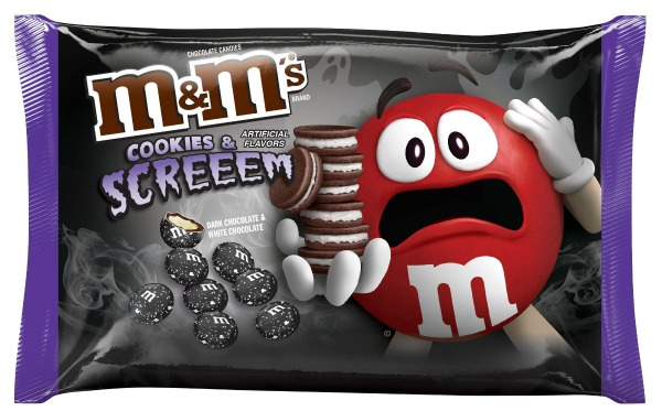All the new halloween candy that you have to try for Halloween 2017! M&Ms Cookies & Screeem | Cool Mom Eats