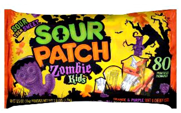 All the new halloween candy that you have to try for Halloween 2017! Sour Patch Zombie Kids | Cool Mom Eats