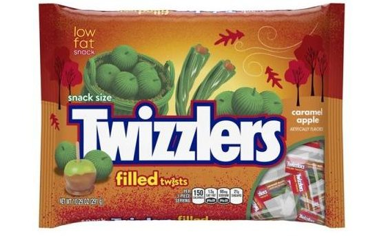 All the new halloween candy that you have to try for Halloween 2017! Caramel Apple Twizzlers | Cool Mom Eats