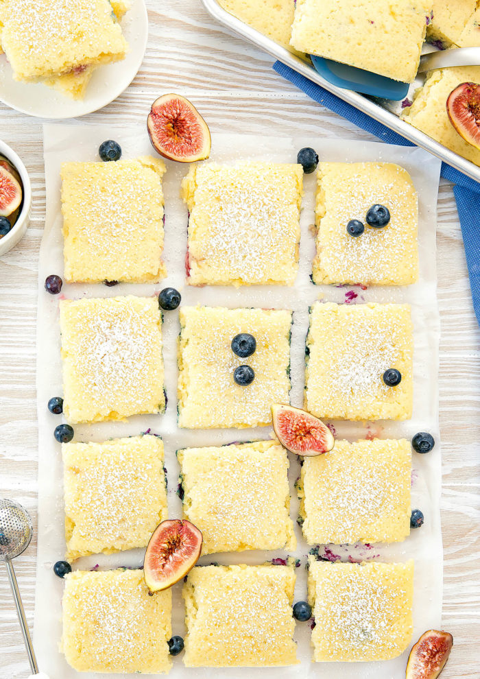 Sheet pan breakfast recipes: Sheet Pan Pancakes | Kirbie Cravings