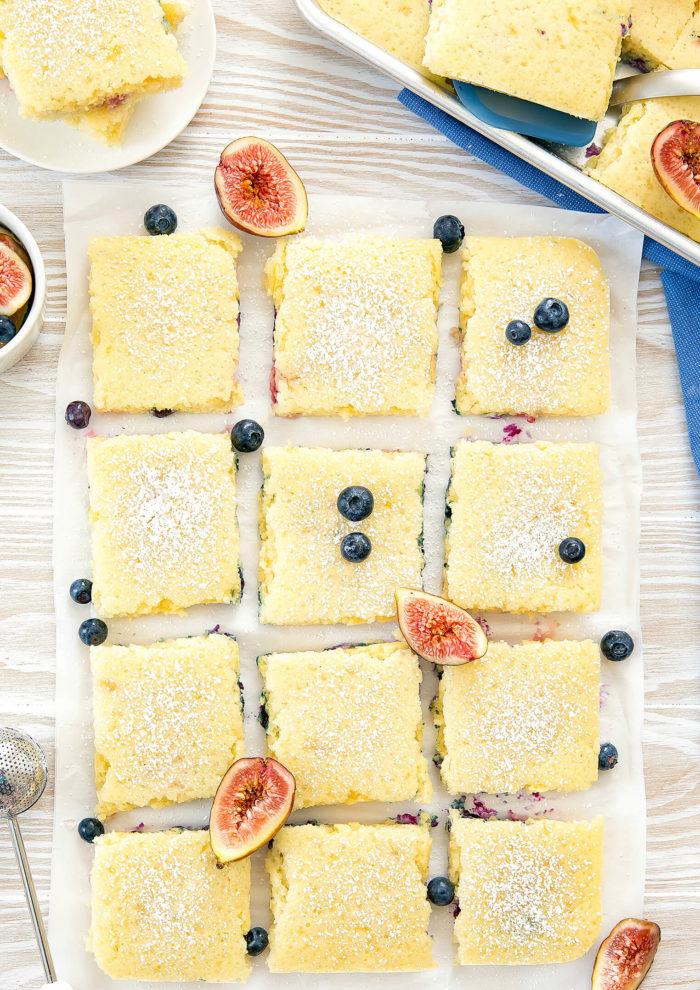 Sheet pan breakfast recipes: Sheet Pan Pancakes | Kirbie Cravings
