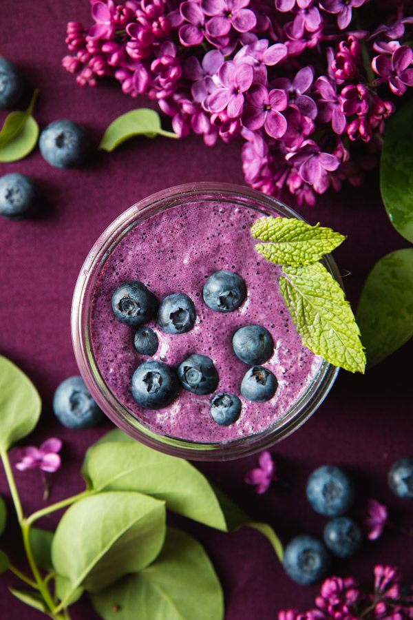 Superfood recipes for kids: Blueberry Beet Smoothie recipe at Will Cook for Friends