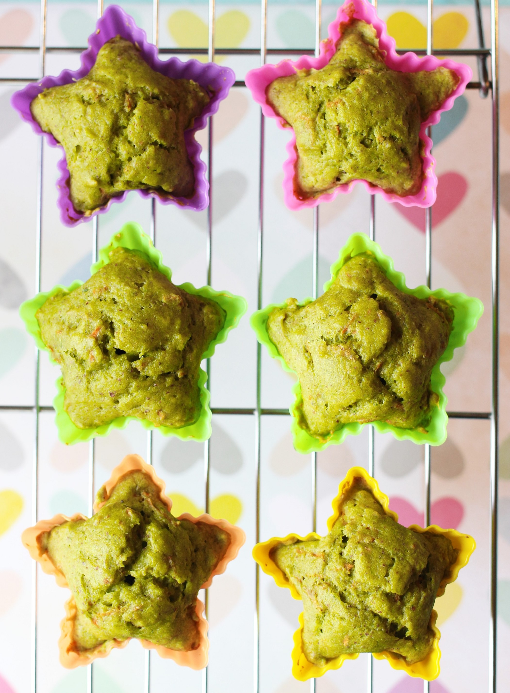 Superfood recipes for kids: Green Monster Veggie Muffins are packed with carrots, spinach, and more -- and sweet enough that kids will love them | Easy Toddler Meals
