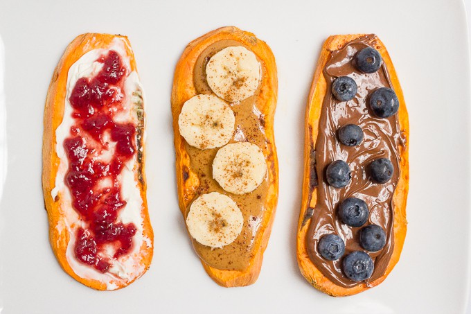 Superfood recipes for kids: Sweet Potato Toast ideas at Family Food on the Table