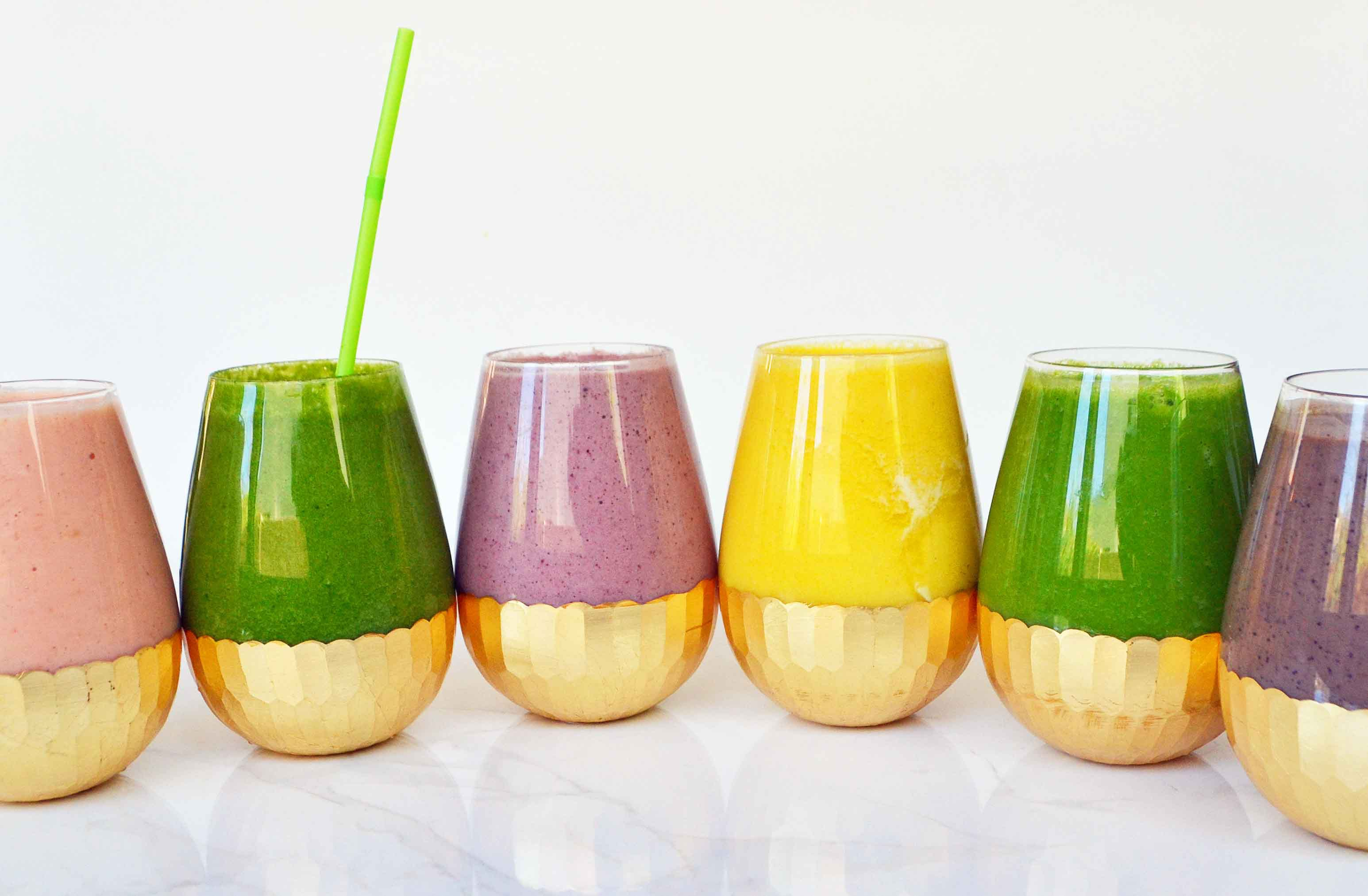 Superfood recipes for kids: 6 superfood smoothies at Modern Honey