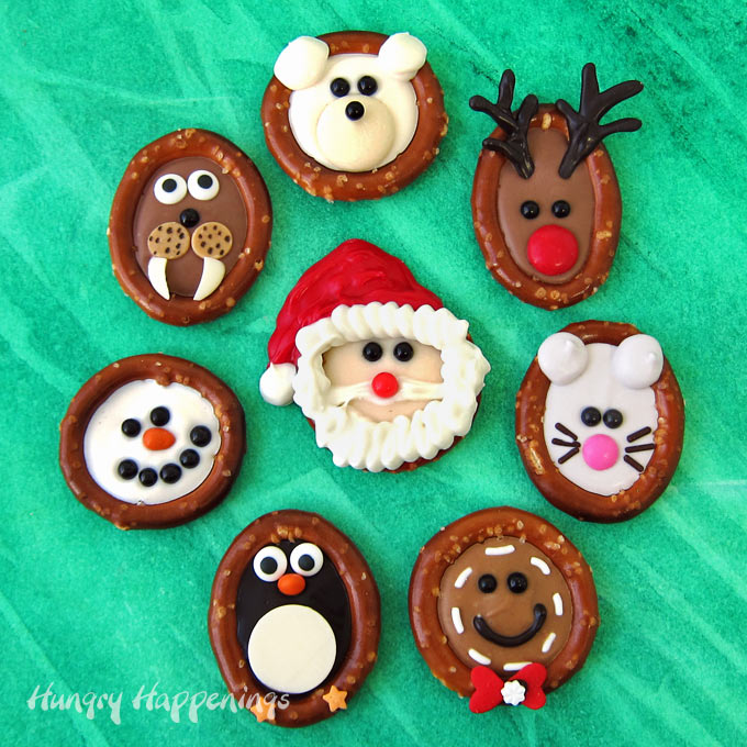Christmas Pretzels from Hungry Happenings