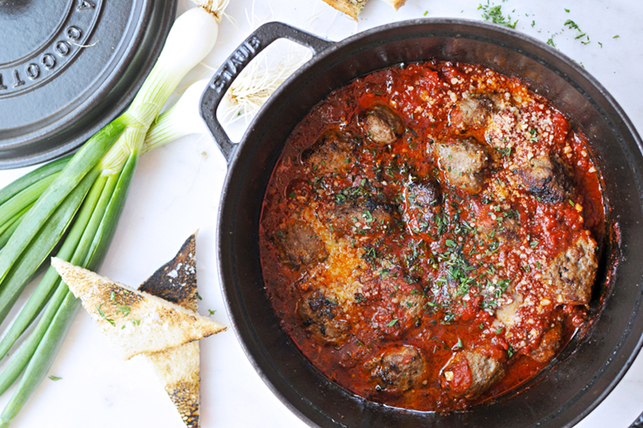 Next week's meal plan: 5 easy recipes for the week ahead, from one-pan meatballs to a 20-minute enchilada bowl.