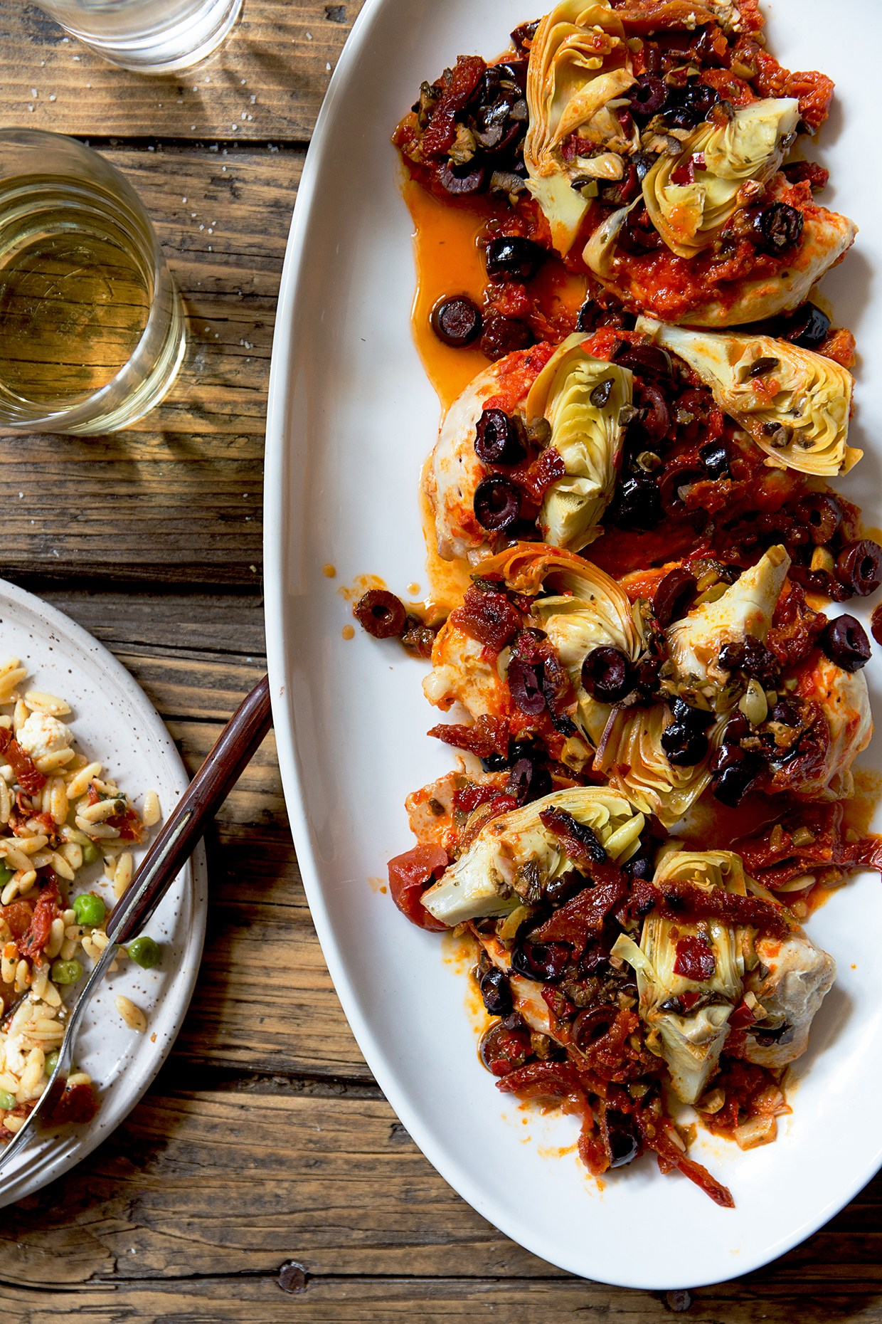 Cool Mom Eats weekly meal plan: Mediterranean Chicken Packets at Real Food by Dad