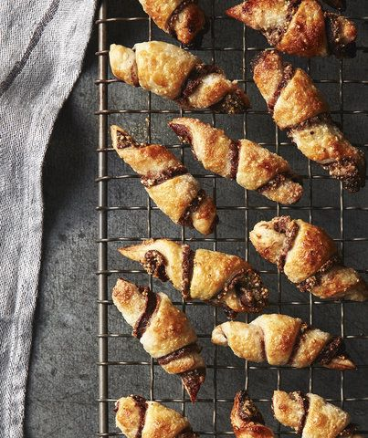 Best holiday cookies for those who don't love to bake: Chocolate Hazelnut Rugelach | Greg DuPree for Real Simple