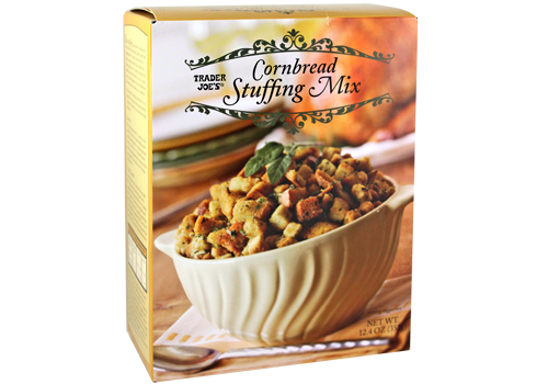 All the Trader Joe's products to grab for easier Thanksgiving cooking: Cornbread Stuffing Mix | featured at Cool Mom Eats