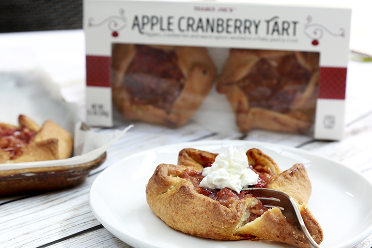 All the Trader Joe's products to grab for easier Thanksgiving cooking: Apple Cranberry Tarts | featured at Cool Mom Eats