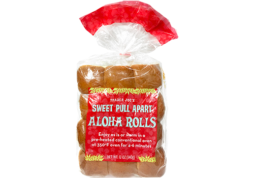 All the Trader Joe's products to grab for easier Thanksgiving cooking: Sweet Pull Apart Aloha Rolls | featured at Cool Mom Eats