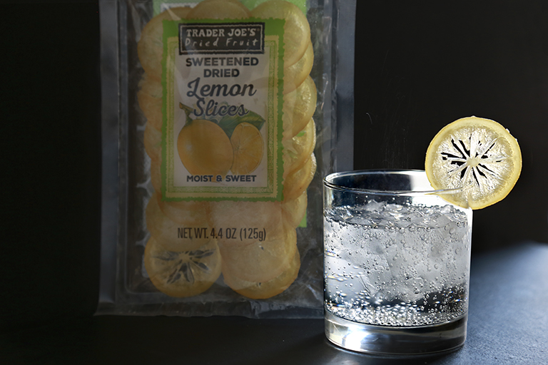 All the Trader Joe's products to grab for easier Thanksgiving cooking: Sweetened Dried Lemon Slices | featured at Cool Mom Eats