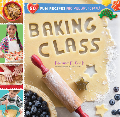 Holiday gifts for kids who love to cook: Baking Class cookbook by Deanna F. Cook | Cool Mom Eats holiday gift guide 2017