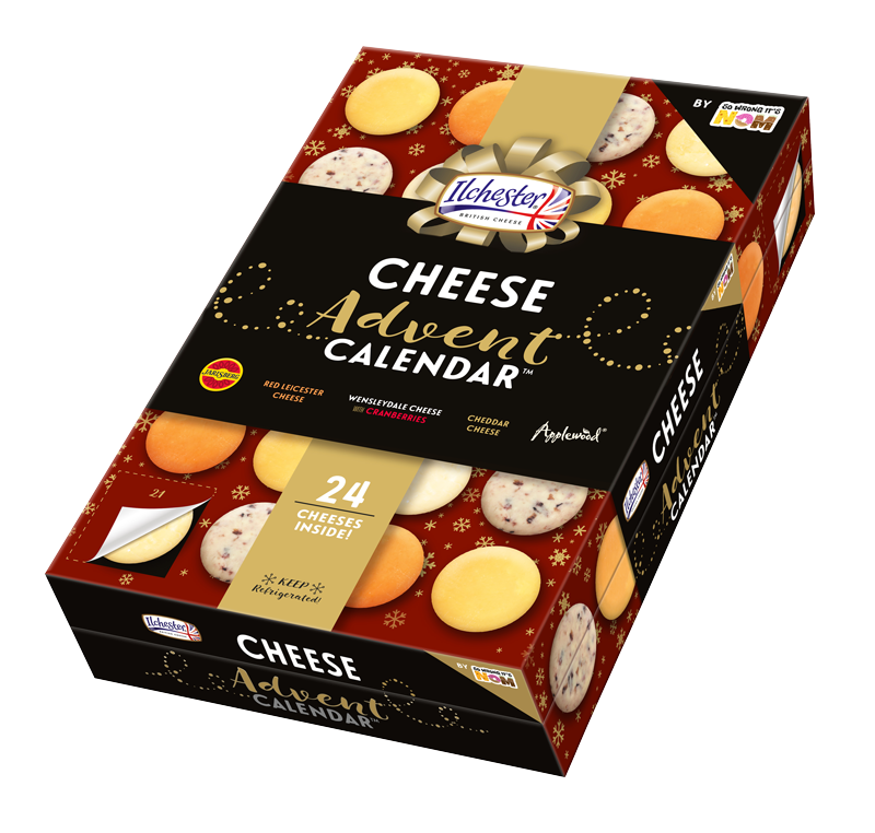 Food advent calendars: Asda Cheese Advent Calendar | So Wrong It's Nom
