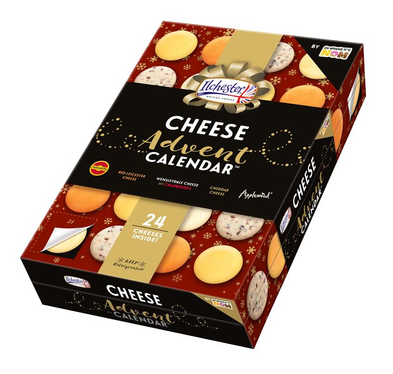 Food advent calendars: Asda Cheese Advent Calendar | So Wrong It's Nom