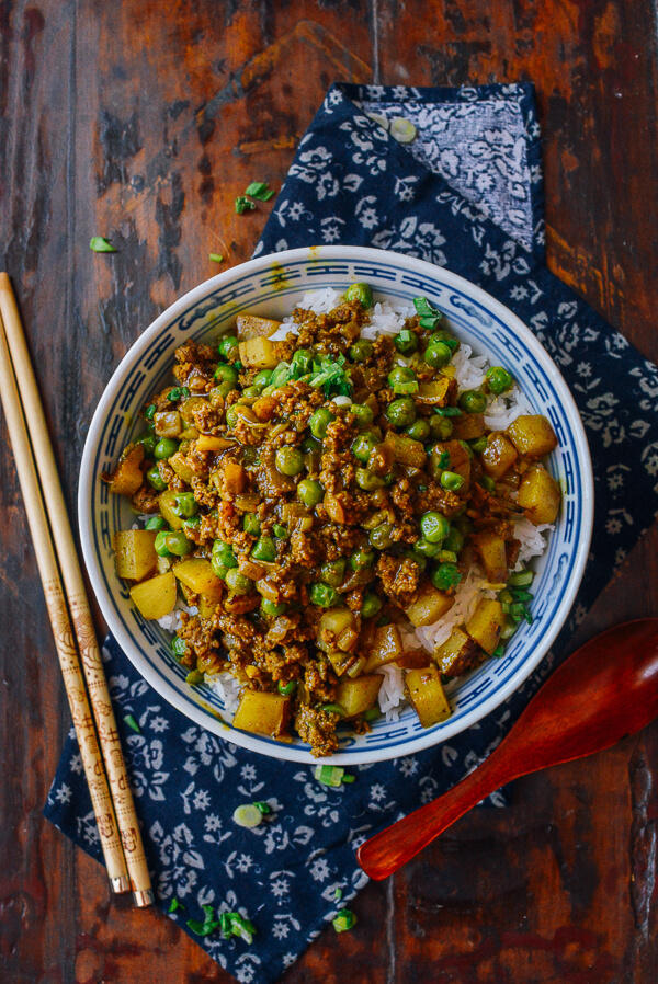 Cool Mom Eats weekly meal plan: Curry Beef Bowls | The Woks of Life