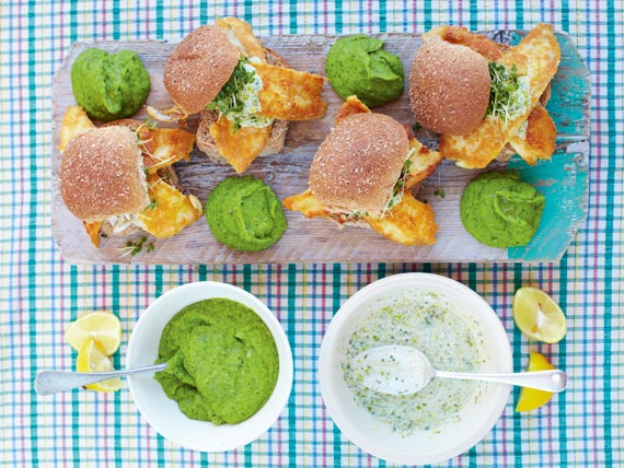 Cool Mom Eats weekly meal plan: Easy, best fish sandwiches at Jamie Oliver