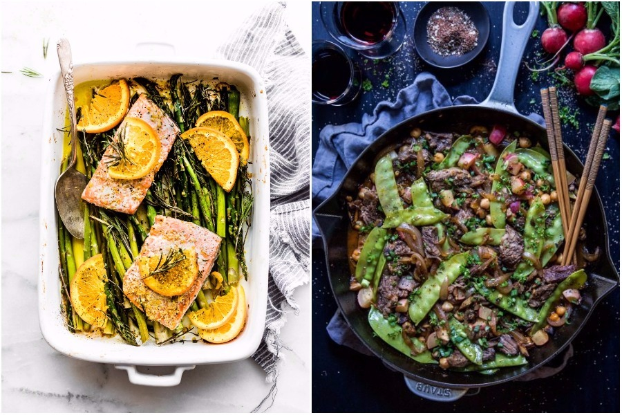 Next week's meal plan: 5 easy recipes for the week ahead, from a one-pan salmon bake to a flavorful za'atar stir fry.