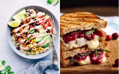Next week's meal plan: 5 easy recipes for the week ahead, from a quick #MeatlessMonday bowl to the perfect Thanksgiving leftovers sandwich.