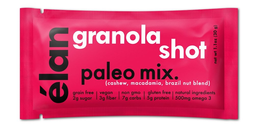 Essential Paleo pantry items: Élan paleo granola shots | featured at Cool Mom Eats