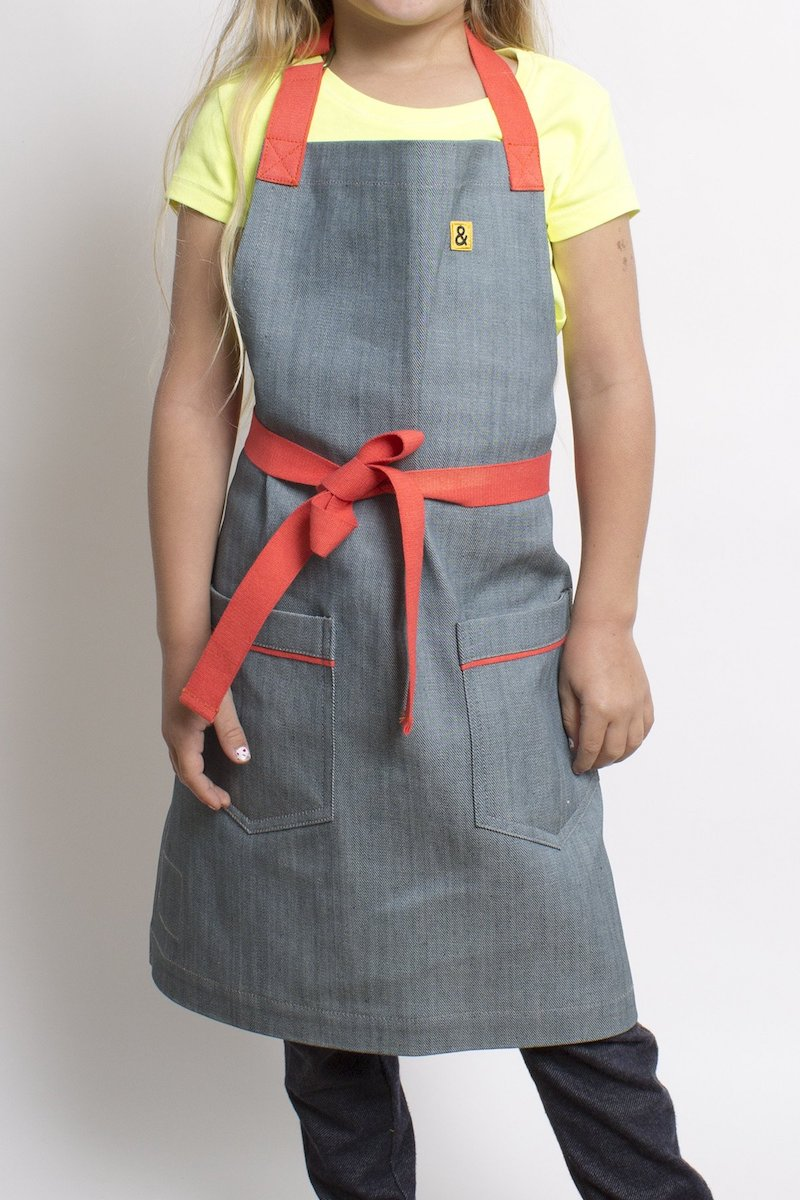 Gifts for kids who love to cook: Hedley & Bennett aprons for kids | Cool Mom Eats holiday gift guide 2017