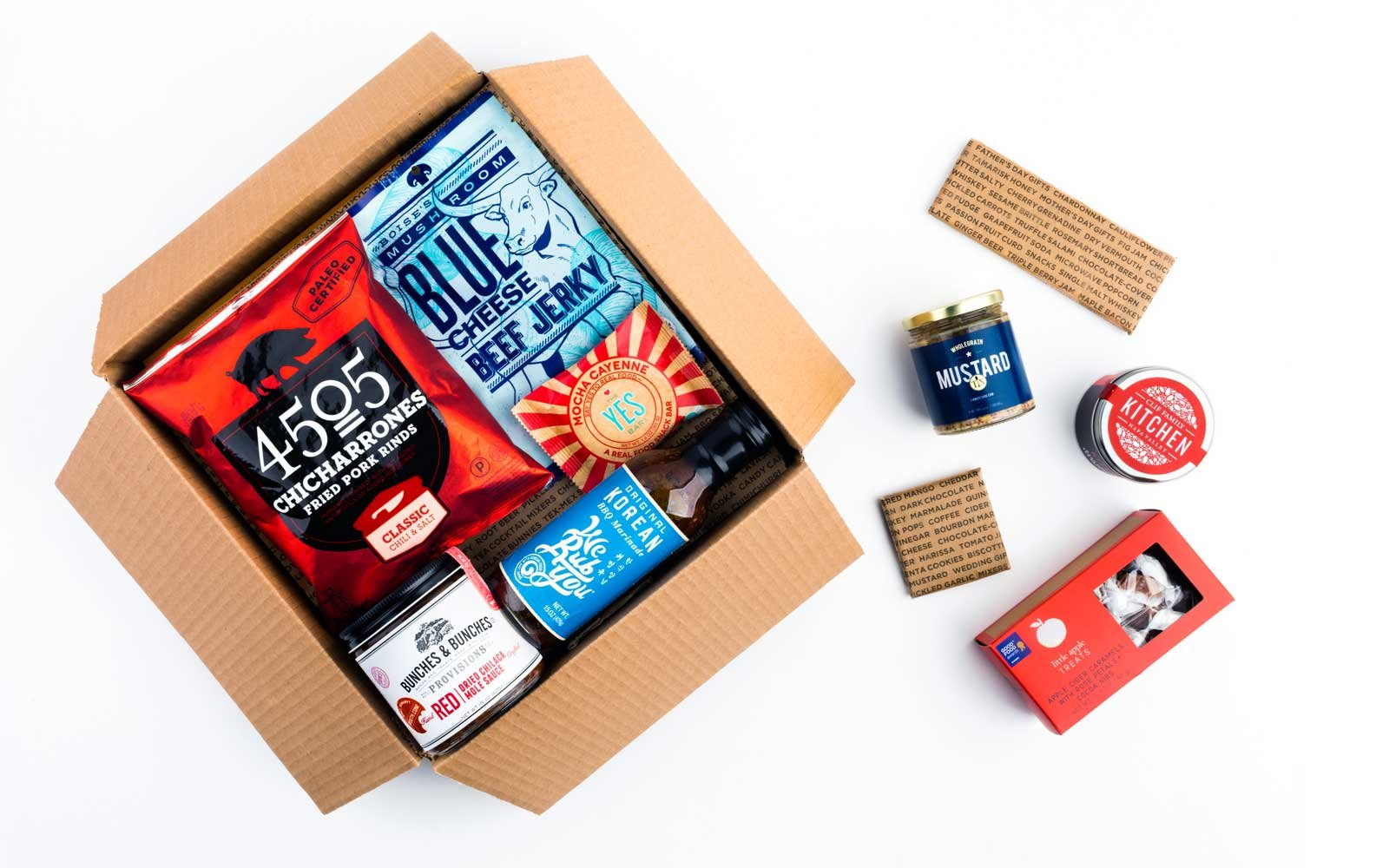 Splurge gifts for foodies who like to cook and eat it all: Indie States of America food gift subscription at Mouth | Cool Mom Eats holiday gift guide 2017