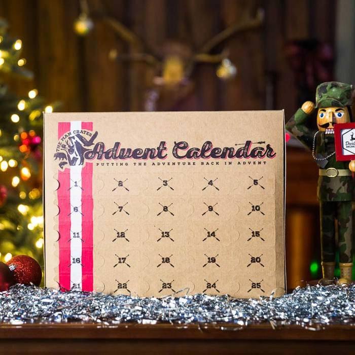 Food advent calendars: Jerky Advent Calendar | Man Crates