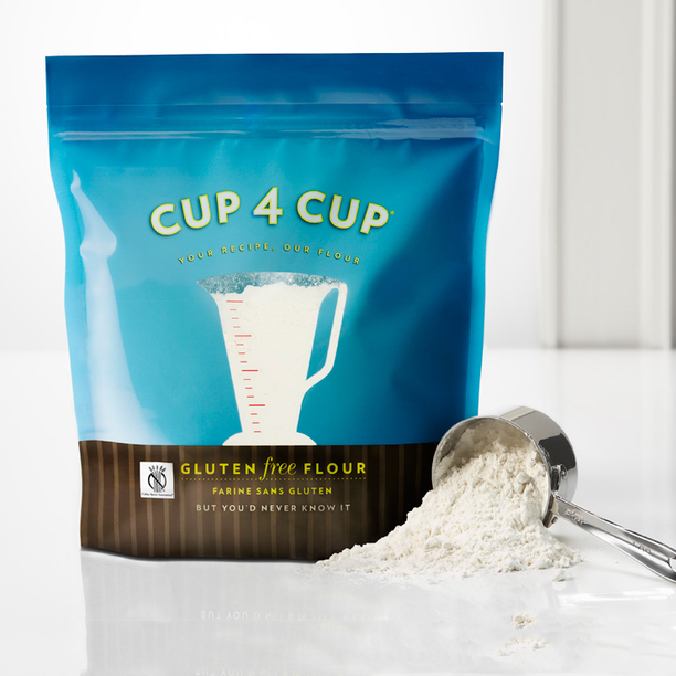 One-to-one baking substitutes for flour for easier gluten-free holiday baking recipes | Cup4Cup flour is one of our favorite gluten-free flour blends | Cool Mom Eats