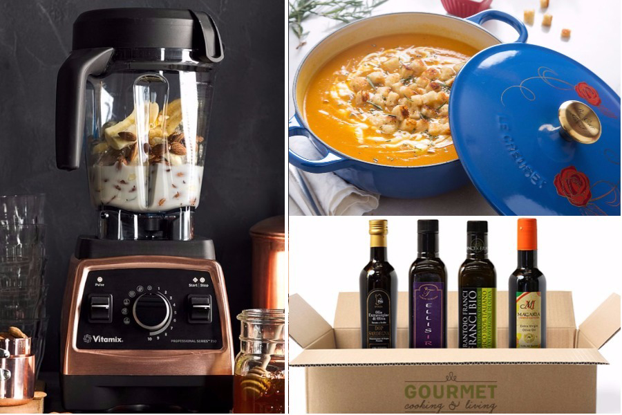 Splurgey holiday gifts for foodies who like to cook and eat it all | Cool Mom Eats holiday gift guide 2017